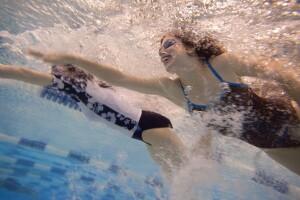 Two Women on the Special Olympics Virginia Swim Team Make a Joyful Splash in the Pool, Training in 2011