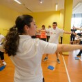 Exercise Program at Athlete Health and Fitness Advocates Workshop in Austria, 2017