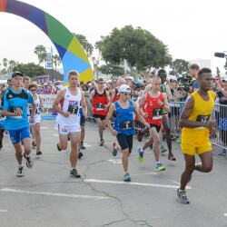 RFA Lede - Runners of the Half Marathon at the 2015 Summer Games in Los Angeles