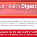 Inclusive Health Digest Newsletter Banner