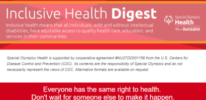 Inclusive Health Digest Newsletter Banner