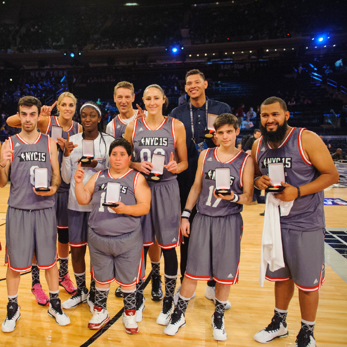 NBA Cares Unified Basketball Game 2015