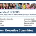 """Cover of """"Friends of NCBDDD"""" Newsletter, October 2018"""