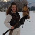Amber Gertsch Special Olympics Utah, Falconer in Snow