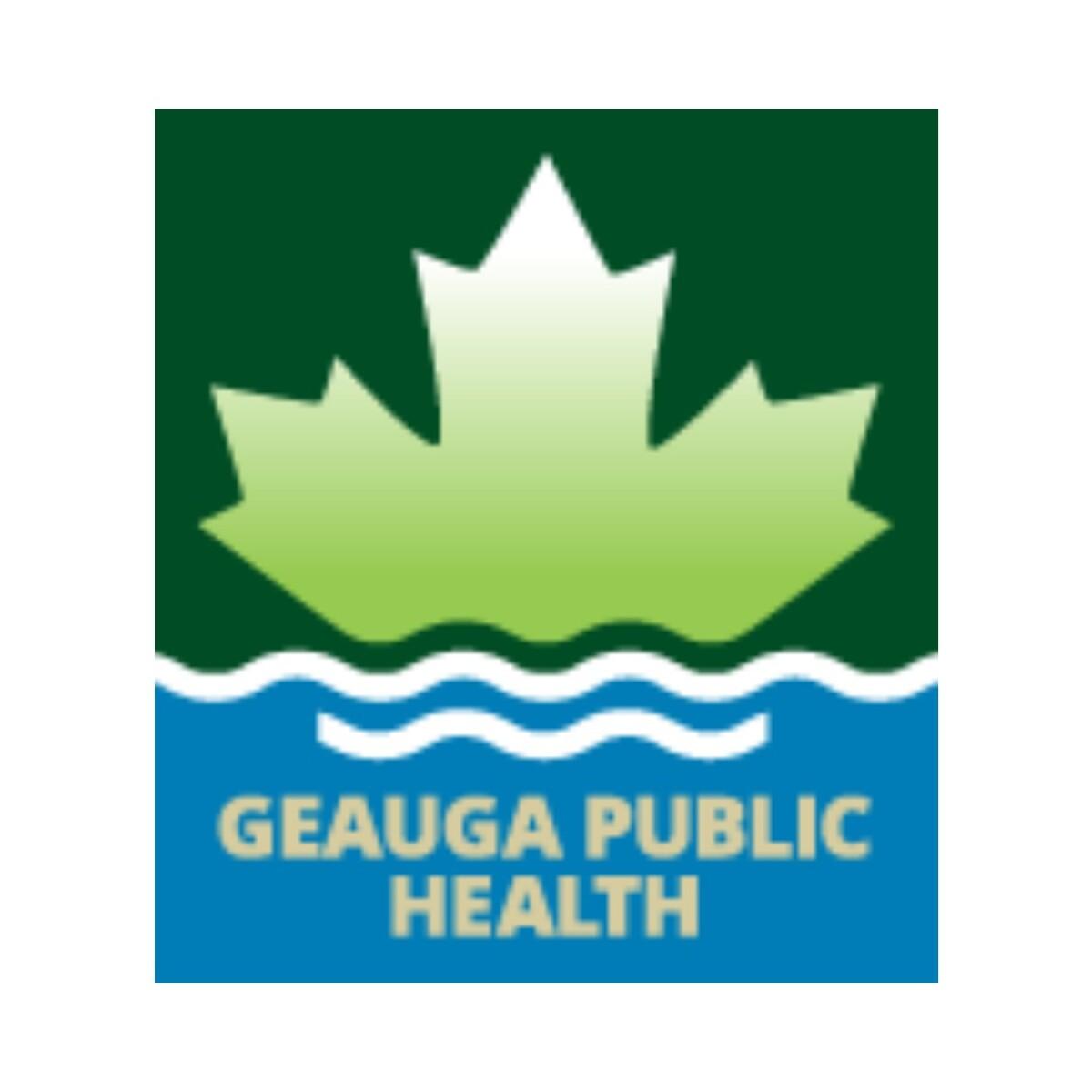 Geauga Public Health Logo
